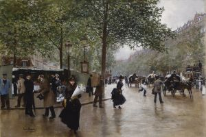 painting classical art artwork paris jean beraud