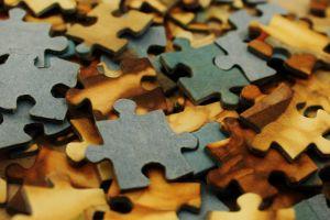 paper macro brown puzzles