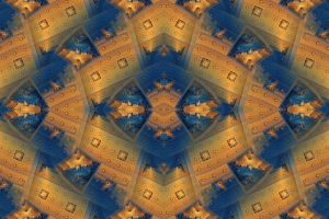 pattern symmetry fractal abstract