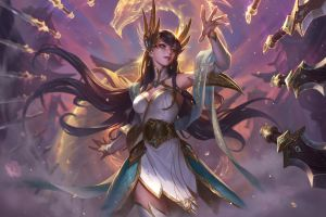 pc gaming chenbo irelia fantasy girl fantasy art league of legends