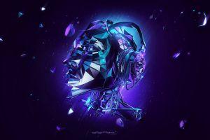 photo manipulation headphones artwork