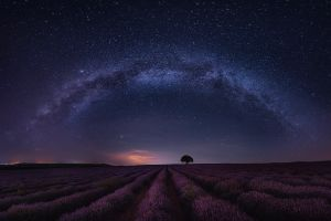 photography landscape night nature long exposure milky way