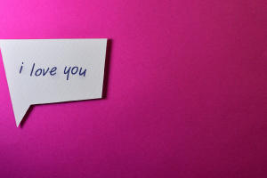 pink simple background simple love