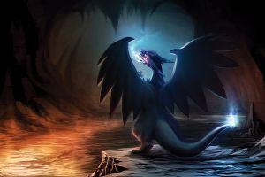 pokémon artwork dragon cartoon