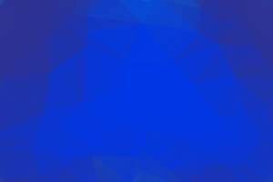 poly low poly blue geometry