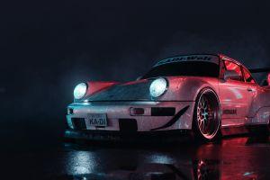 porsche vehicle dark car porsche 911