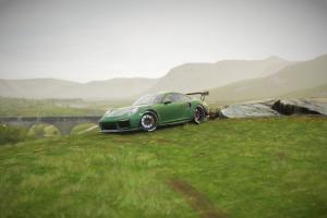 porsche video games car green cars forza horizon 4 vehicle screen shot