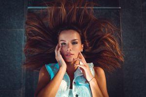 portrait hair   women marco squassina model