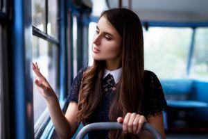 portrait long hair brunette maksim romanov women outdoors women freckles