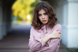 portrait women maksim romanov