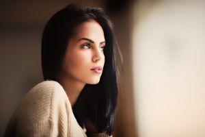 portrait women model marlen valderrama alvaréz face long hair