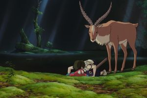 princess anime studio ghibli ashitaka princess mononoke