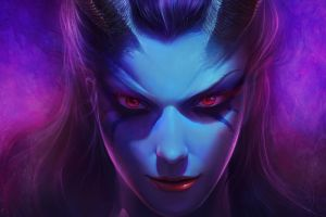 queen of pain dota dota 2 joo yann ang