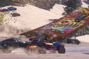 racing car screen shot video games
