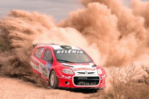 rally red cars race cars sport  fiat vehicle car dirt