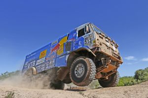 rally truck kamaz racing vehicle