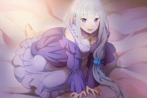 re:zero kara hajimeru isekai seikatsu emilia (re: zero) anime girls