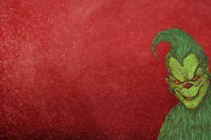 red background creature bogdan timchenko artwork