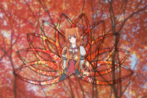 red eyes raphtalia sword tate no yuusha no nariagari piture in picture animal ears blurred picture-in-picture