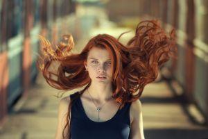 redhead model women