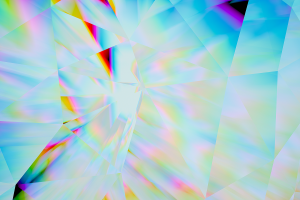 refraction shapes abstract digital art