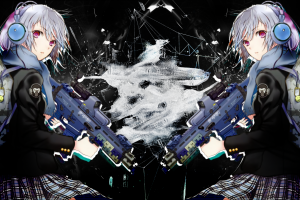 rifles anime girls guns girlz