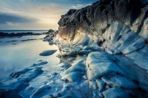 rock nature coast