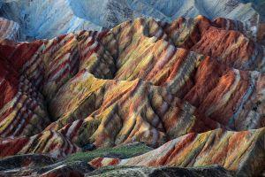 rocks landscape mountains