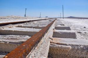 salt railway desert