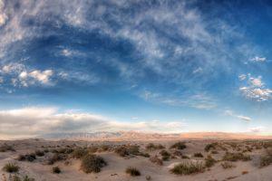 sand sky desert clouds