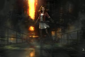 scarlet witch avengers: age of ultron marvel cinematic universe marvel comics elizabeth olsen