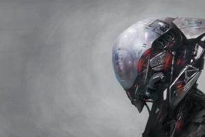 science fiction artwork robot futuristic digital art android robot