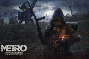 science fiction soldier metro exodus fan art video games weapon