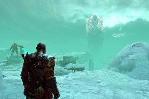 screen shot kratos god of war video games