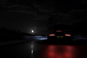 screen shot lights video games vehicle forza night forza horizon 4 dark car