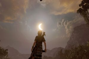 screen shot shadow of the tomb raider playstation 4 lara croft video games