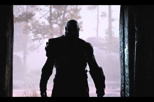 screen shot video games god of war god of war (2018) santa monica studio atreus dark kratos god of war 4