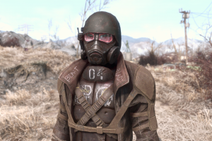 screen shot video games pc gaming fallout 4 ncr new california republic fallout apocalyptic mask