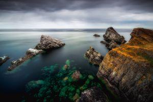 sea nature scotland coast