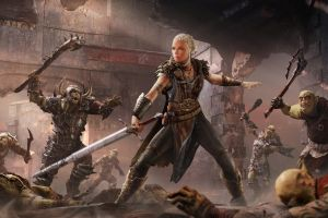 shadow of mordor middle earth video games