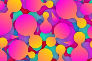 shapes abstract colorful