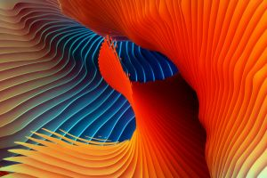 shapes colorful digital art abstract