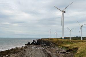 shore sea banks wind