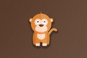 simple background animals digital brown background