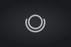 simple background black minimalism circle
