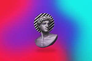simple simple background gradient vaporwave
