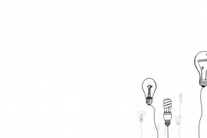 simple simple background light bulb drawing
