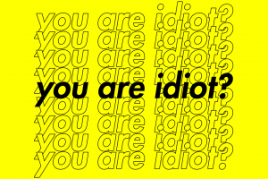 simple yellow yellow background typography questions yellow