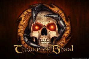 skull baldur's gate ii baldur's gate video games