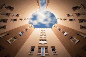 sky architecture building